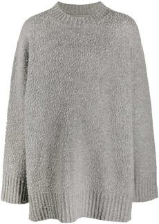 Maison Margiela oversized textured jumper