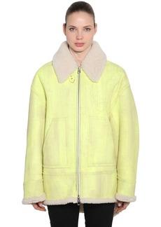 Maison Margiela Oversized Washed Shearling Jacket
