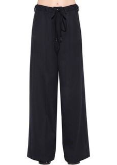 Maison Margiela Oversized Wool Blend Pants
