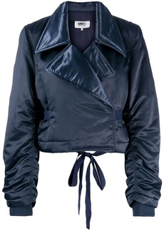 Maison Margiela padded cropped jacket