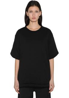Maison Margiela Padded Oversized Cotton & Satin T-shirt