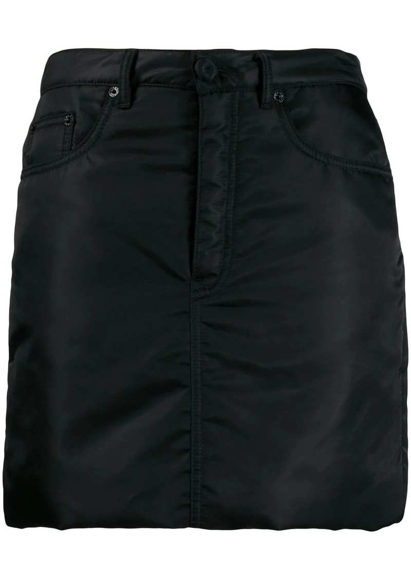 Maison Margiela padded straight skirt