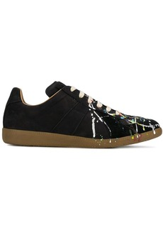 Maison Margiela paint drop Replica sneakers
