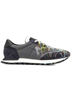 Maison Margiela paint splattered runner sneakers