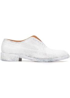 Maison Margiela painted oxford shoes