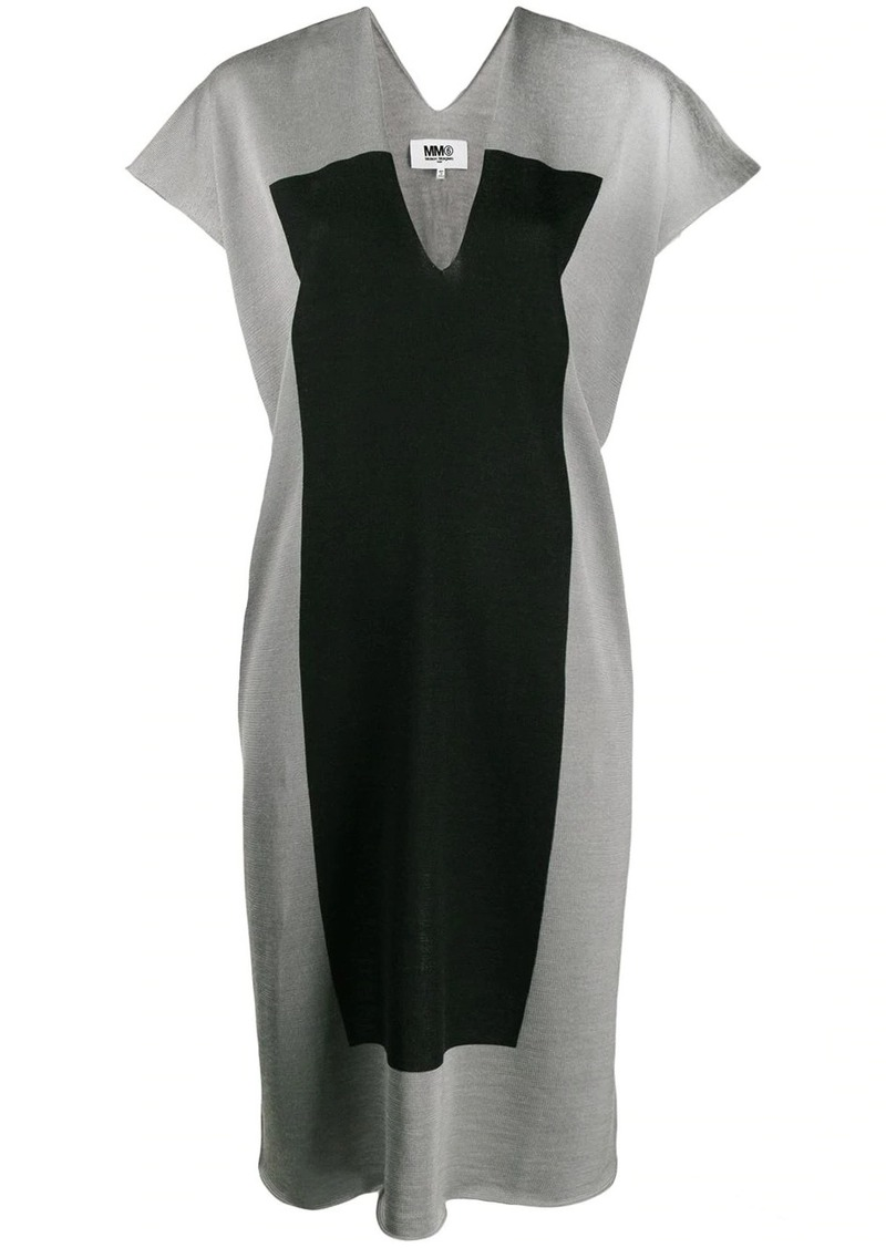Maison Margiela panel shift dress
