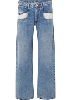 Maison Margiela Paneled Boyfriend Jeans