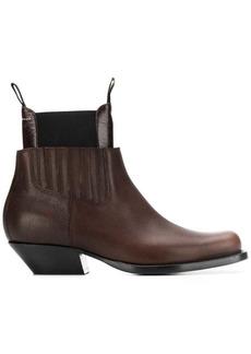 Maison Margiela panelled ankle boots