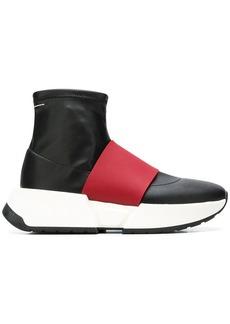 Maison Margiela panelled sock sneakers
