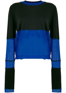 Maison Margiela panelled sweater
