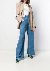 Maison Margiela panelled wide leg jeans