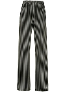 Maison Margiela striped wide-leg trousers