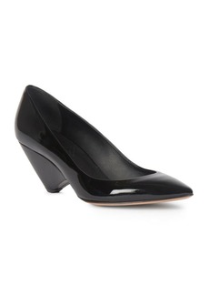 Maison Margiela Patent Leather Cone Heel Pumps