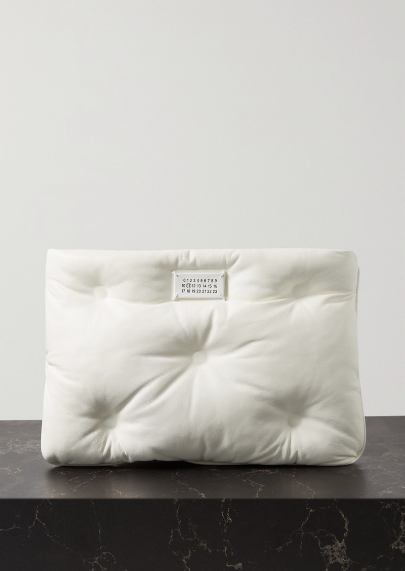 Maison Margiela Pillow Quilted Leather Pouch