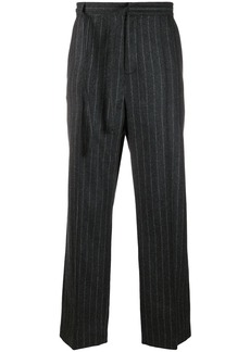 Maison Margiela pinstripe straight-leg trousers