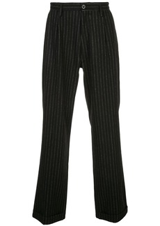 Maison Margiela pinstripe wide-leg trousers
