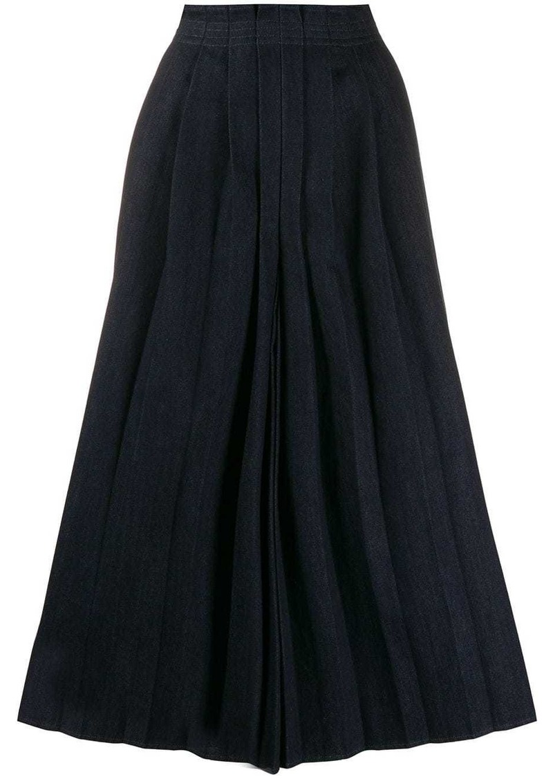 Maison Margiela pleat front culottes