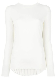 Maison Margiela pleated back jumper