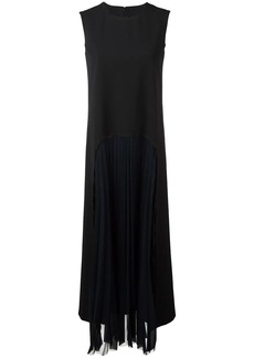Maison Margiela pleated front long dress