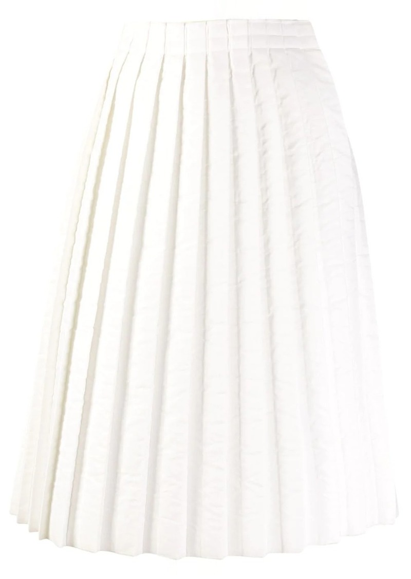 Maison Margiela pleated midi skirt