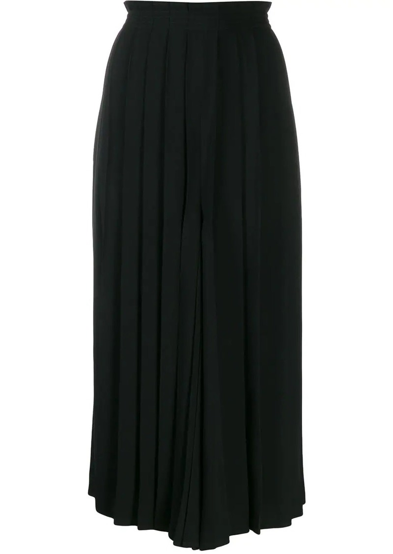 Maison Margiela pleated palazzo trousers