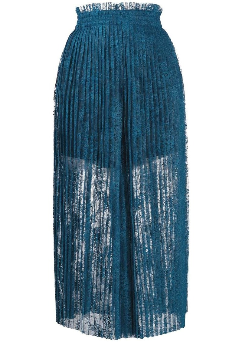Maison Margiela pleated trousers