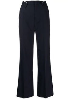 Maison Margiela pleated waist tailored trousers