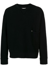 Maison Margiela pocket detail sweatshirt