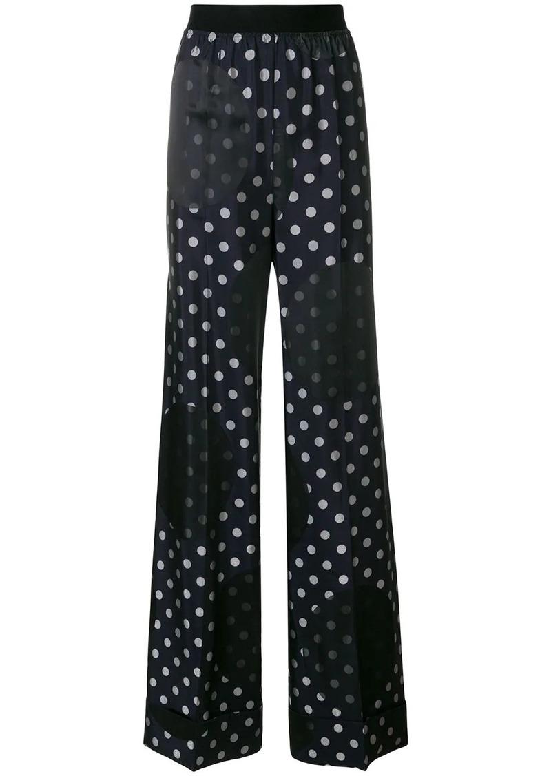 Maison Margiela polka dot print trousers