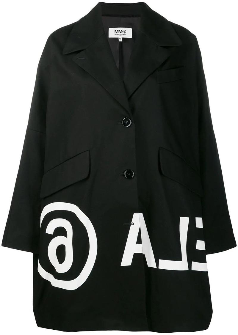 Maison Margiela printed coat