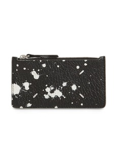 Maison Margiela Printed Leather Card Holder