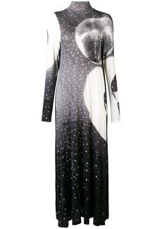 Maison Margiela printed maxi dress