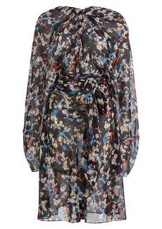 Maison Margiela Printed Silk Chiffon Dress