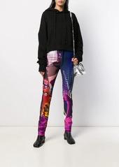 Maison Margiela printed skinny jeans