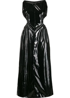 Maison Margiela PVC halterneck dress