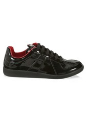 Maison Margiela Replica Low Top Patent Sneakers
