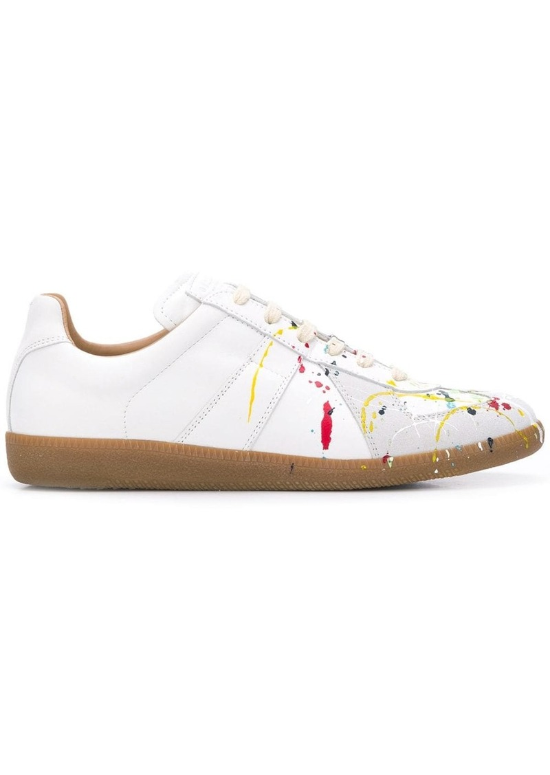 Maison Margiela Replica Paint low-top sneakers