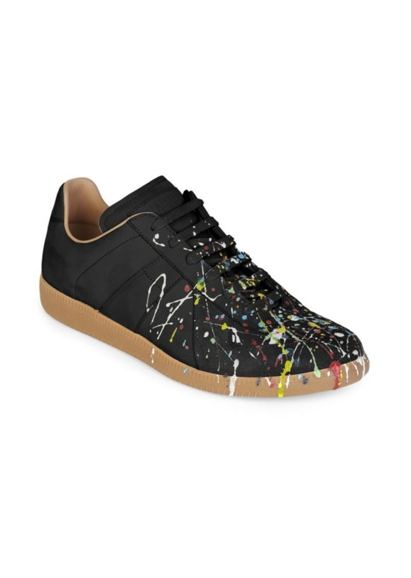 Maison Margiela Replica Painter Leather Sneakers