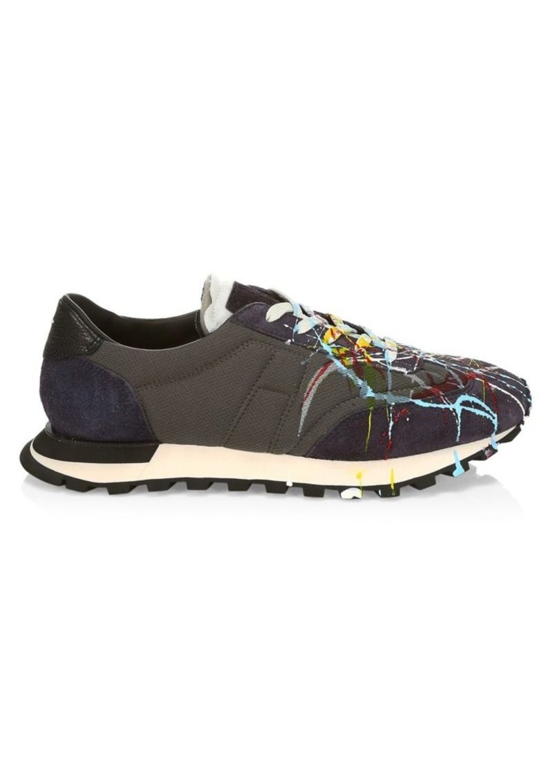 Maison Margiela Replica Runner Paint Sneakers