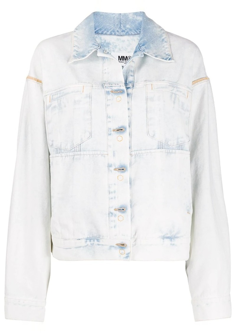 Maison Margiela reversed effect denim jacket