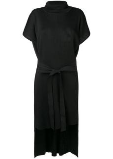 Maison Margiela ribbed knit layered dress