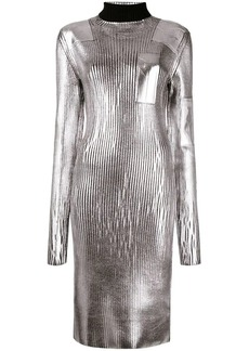Maison Margiela ribbed turtleneck dress