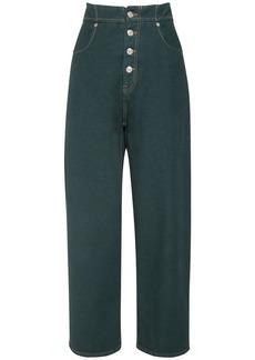 Maison Margiela Rihanna High Waist Cotton Denim Jeans