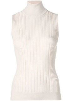 Maison Margiela roll neck knitted top