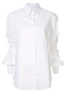 Maison Margiela ruffle sleeve shirt