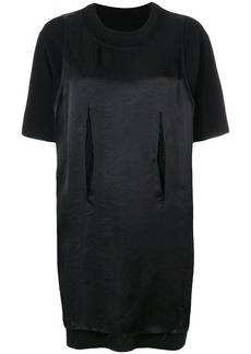 Maison Margiela satin T-shirt dress