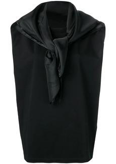 Maison Margiela scarf detail top
