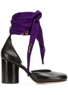 Maison Margiela Scarf heels