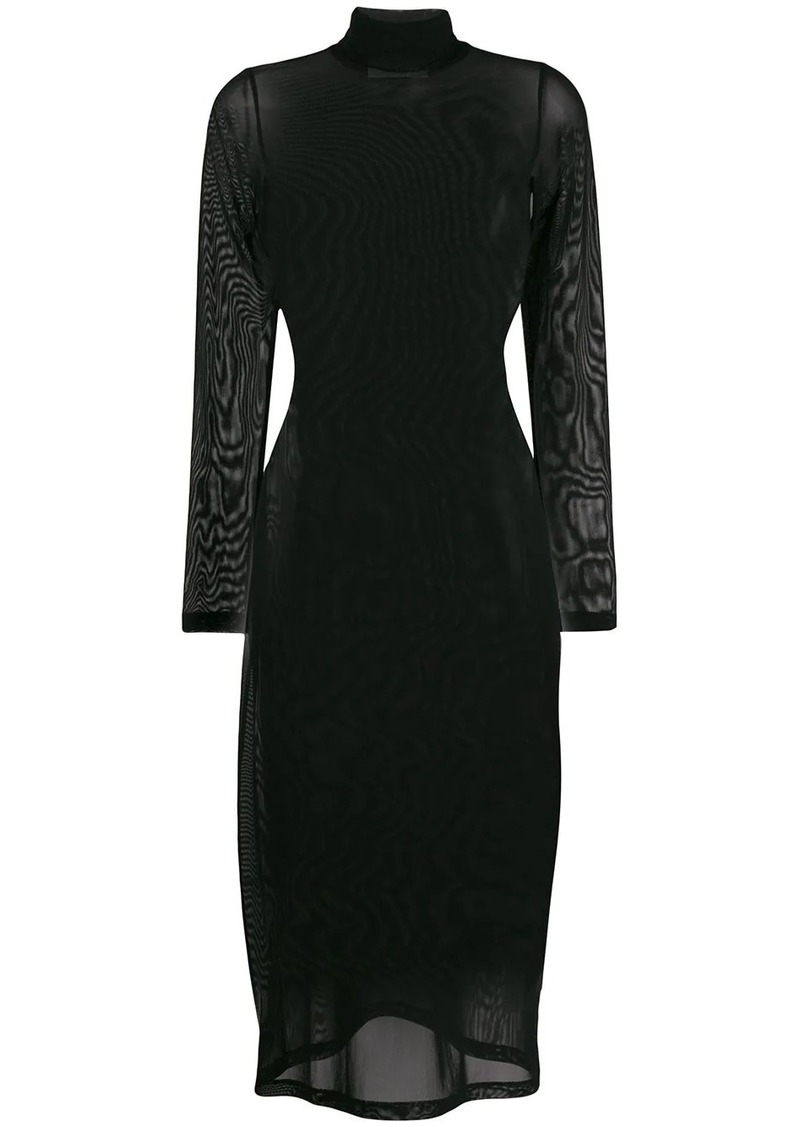 Maison Margiela sheer mesh dress