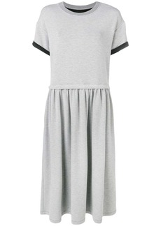 Maison Margiela short-sleeve flared dress